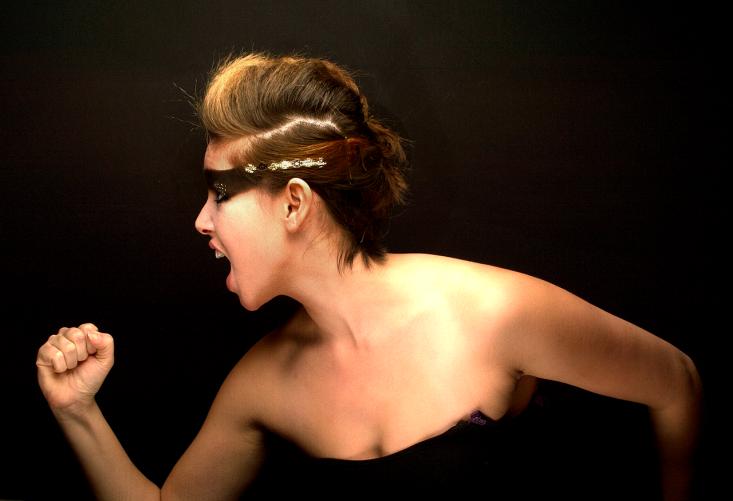 Fotograaf: Eddy Stekkinger Model: Renate Moespot Visagie & Hairstyling: Monika Murris-Nikken