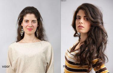 10 juli 2014, studio Fotograaf: Paul Kraefft Model: Jasmin Badri Visagie & haar: Monika Murris-Nikken