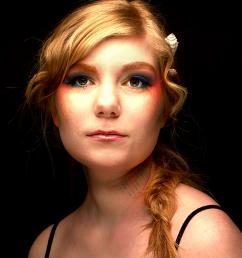 Fotograaf: Eddy Stekkinger Model: Miriam Nikken Visagie & Hairstyling: Monika Murris-Nikken