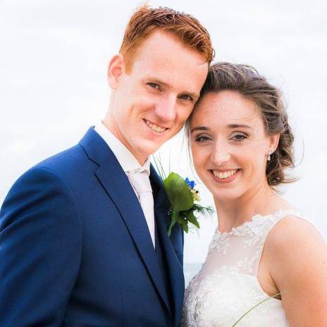 Bernice en joris trouwfoto